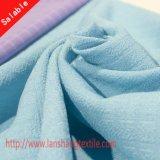 Ткань полиэфира Spandex химически волокна покрашенная для юбки рубашки платья