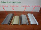 Perforar la puerta de Obturador de laminación de acero galvanizado