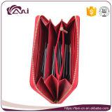 Fani 4 Leer van de Portefeuille Pu van de Vrouwen van de Ritssluiting van Kleuren het Vlinder Afgedrukte