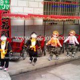 Paseos del Kiddie de la diversión, paseos del Kiddie de la robusteza para la venta (BJ-KD04)