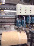 En el extranjero Servicio después de la pulidora de ventas/PLC Mable Arco pulidora losa de granito /Rectificadora/máquina de proceso de piedra
