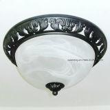 Dekorative Polyinnenglasdeckenleuchte mit Halter der Lampen-E27