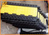 Rampe en caoutchouc de protecteur de câble d'étage de la Manche de la qualité 3