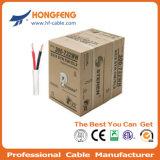 Leiter Fernsehapparat CATV des Verkaufs-75 kabelt innerer des Ohm-1.02mm RG6