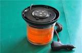 PC Dome Orange Gyrophare stroboscopique à LED blanche pour voiture (TBD348-III)