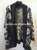 Свитер кардигана Knit женщин Batwing новой конструкции светотеневой
