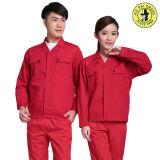 カスタマイズされた綿のジャケットおよびズボンの工場ユニフォームのWorkwear