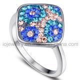 Kristal Jewelry Ring met Roestvrij staal 316