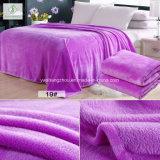 ソファーベッドの冬の暖かく柔らかい敷布のための方法フランネル毛布