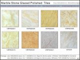 Azulejos de suelo esmaltados Polished de mármol de la porcelana (VRP6D049, 600X600m m)