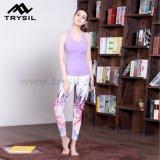 A ioga colorida das calças arfa calças dos esportes para senhoras