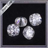 Großverkauf für immer ein Kissen-Form Diamant geschnittene reine weiße Moissanite Steine für Ring
