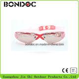 Sports de vente chauds emballant des lunettes nageant des lunettes avec la fiche d'oreille