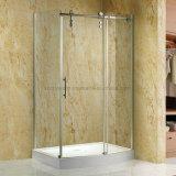 8 mm de vidrio templado espacio para duchas, Ducha