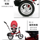 Alta calidad de 4 en 1 Trike bebé/niño Trikes para la venta