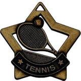 カスタマイズされた記念品のスポーツの金のテニスメダル金のバッジ賞の円形浮彫り