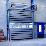 Portello ad alta velocità di alluminio industriale del portello veloce duro della turbina