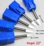 Инструменты маршрутизатора CNC Tungsren резца металла высокой точности серии Jsx стальные для битов гравировки металла для инструментального металла