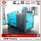 Generador eléctrico de la potencia diesel silenciosa de Weifang Ricardo 100kVA/80kw (10-250kW)