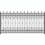Clôture de la vie privée métalliques décoratifs Zinc clôture clôture en fer forgé en acier clôture de piscine