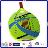 Подгонянная ракетка тенниса пляжа материала углерода печатание 3k