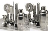 Acero inoxidable Premium Barware Coctelera Set Set