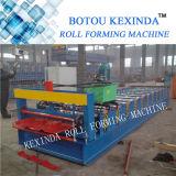 Rolo de aço do telhado de Kexinda que dá forma à máquina