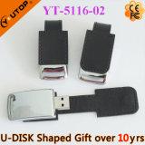 Горячий привод пер USB кожи подарка типа дела (YT-5103)