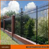 Clôture de yard de panneaux en acier lourds de frontière de sécurité/fer travaillé