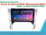 Androïde GPS van de Auto DVD van het Systeem voor Toyota Camry het Scherm van de Aanraking van 10.1 Duim met Bluetooth/TV/MP4