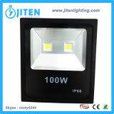 Lampe d'inondation extérieure du projecteur IP65 DEL de la lumière d'inondation de la haute énergie DEL 100W DEL
