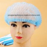 Doppia macchina elastica non tessuta e di plastica a gettare di fabbricazione netta dei capelli