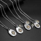 Collier pendentif en titane pendentif 4 Design Star Accessoires de mode