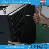 Painel orientado para o serviço dianteiro impermeável fixo ao ar livre da cor P16 cheia