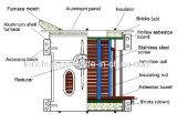Four de fonte en aluminium d'admission économiseuse d'énergie et environnementale