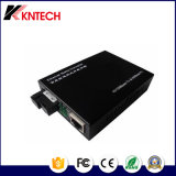 Transmisor-receptor óptico de Ethernet de la distancia de transmisión del solo modo los 20km