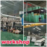 Folha contínua do policarbonato do verde da manufatura de China Foshan para todos os tipos da folha do PC do verde da tampa do telhado