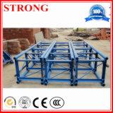 La section de mât standard de passager de la construction d'un palan et de grue à tour
