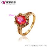 13127 Form-späteste GoldEngag Ring-Entwürfe mit Zircon