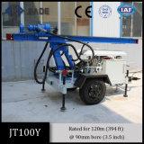 Foreuse portative de puits d'eau de plate-forme de forage de Jt100y