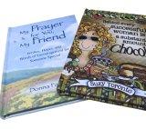 Портативное и миниое книжное производство книга в твердой обложке, книга рассказа полного цвета