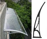Silverwingのポリカーボネートの日除け固体シートのドアのWindowsのおおいの日よけの望楼(70cm固体YY-N)