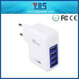 UE nous adaptateur BRITANNIQUE de chargeur de mur de Muti Phonetravel de ports USB de la fiche d'adaptateur 4
