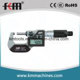 25-50mm 큰 LCD 전자 디지털 외부 마이크로미터 IP65 보호 정도