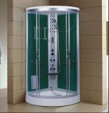 1000mm Corner Steam Sauna com banheira de hidromassagem e chuveiro (AT-D1010F)