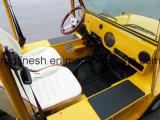 4 4 пассажира 17.5HP электрических Car/E автомобиля мест или/багги пляжа/миниый Moke/низкоскоростной корабль/Lsv/Nev с ECE/EEC/Coc