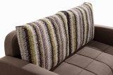 Base di sofà elegante del tessuto di Tyle del sofà del blocco per grafici di legno