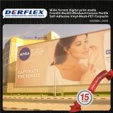La publicidad exterior PVC Frontlit Flex Banner de formato ancho Tejido de poliéster recubierto de vinilo de impresión