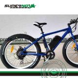 Vélo électrique de pleine montagne de suspension
