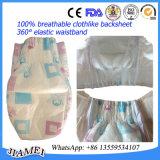 Tecidos respiráveis do bebê dos produtos do bebê com a faixa elástica grande